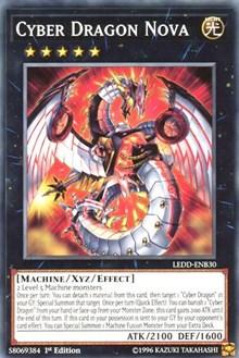 Cyber Dragon Nova, YuGiOh, Legendary Dragon Decks