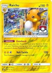 Raichu - 41/147 (League Promo) [1st Place], Pokemon, League & Championship Cards