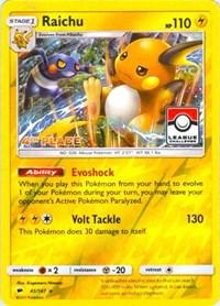 Raichu - 41/147 (League Promo) [4th Place], Pokemon, League & Championship Cards