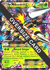 M Beedrill EX - XY158 (XY Black Star Promos), Pokemon, Jumbo Cards