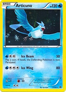 Articuno (Next Destinies), Pokemon, Blister Exclusives
