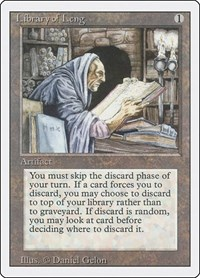 Library of Leng, Magic: The Gathering, Revised Edition