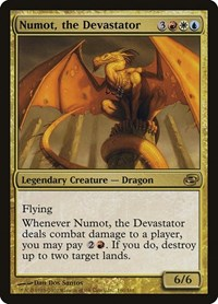 Numot, the Devastator, Magic: The Gathering, Planar Chaos