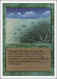 Lifelace, Magic: The Gathering, Revised Edition