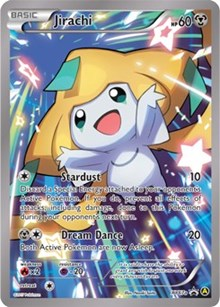 Jirachi, Pokemon, Alternate Art Promos