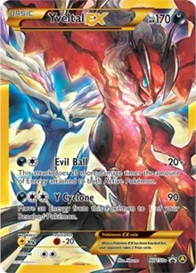 Yveltal EX - XY150a, Pokemon, Alternate Art Promos
