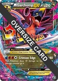 M Garchomp EX - XY168 (XY Black Star Promo), Pokemon, Jumbo Cards