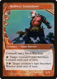 Boldwyr Intimidator, Magic, Future Sight