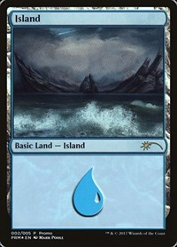 Island (2017 Gift Pack - Poole), Magic: The Gathering, Gift Boxes and Promos