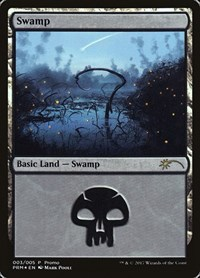 Swamp (2017 Gift Pack - Poole), Magic: The Gathering, Gift Boxes and Promos