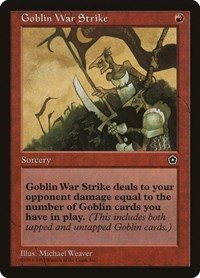 Goblin War Strike, Magic, Portal Second Age