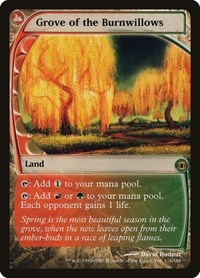Grove of the Burnwillows, Magic: The Gathering, Future Sight