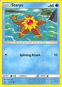 Staryu, Pokemon, SM - Crimson Invasion