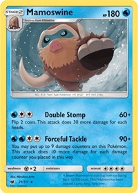 Mamoswine, Pokemon, SM - Crimson Invasion