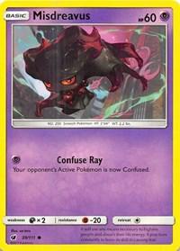 Misdreavus, Pokemon, SM - Crimson Invasion
