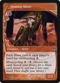 Homing Sliver, Magic: The Gathering, Future Sight