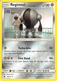 Registeel, Pokemon, SM - Crimson Invasion