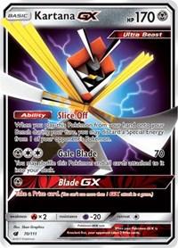 Kartana GX, Pokemon, SM - Crimson Invasion