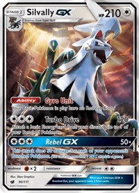 Silvally GX, Pokemon, SM - Crimson Invasion