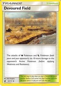 Devoured Field, Pokemon, SM - Crimson Invasion