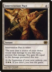 Intervention Pact, Magic, Future Sight