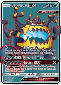 Guzzlord GX (Full Art), Pokemon, SM - Crimson Invasion
