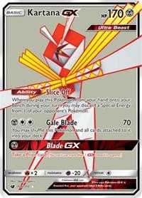 Kartana GX (Full Art), Pokemon, SM - Crimson Invasion