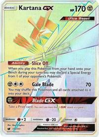Kartana GX (Secret), Pokemon, SM - Crimson Invasion