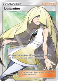 Lusamine (Full Art), Pokemon, SM - Crimson Invasion