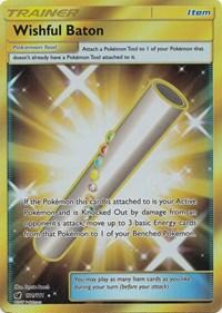Wishful Baton (Secret), Pokemon, SM - Crimson Invasion