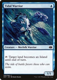 Tidal Warrior, Magic: The Gathering, Duel Decks: Merfolk vs. Goblins