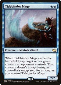 Tidebinder Mage, Magic: The Gathering, Duel Decks: Merfolk vs. Goblins