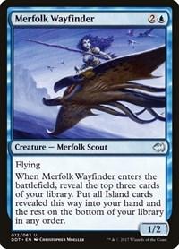 Merfolk Wayfinder, Magic: The Gathering, Duel Decks: Merfolk vs. Goblins