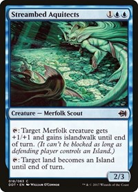 Streambed Aquitects, Magic: The Gathering, Duel Decks: Merfolk vs. Goblins