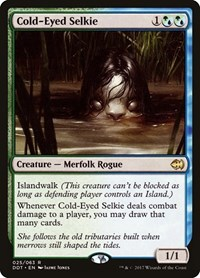 Cold-Eyed Selkie, Magic: The Gathering, Duel Decks: Merfolk vs. Goblins