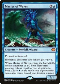 Master of Waves, Magic, Duel Decks: Merfolk vs. Goblins