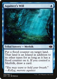 Aquitect's Will, Magic: The Gathering, Duel Decks: Merfolk vs. Goblins