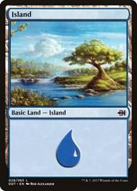 Island (28), Magic: The Gathering, Duel Decks: Merfolk vs. Goblins