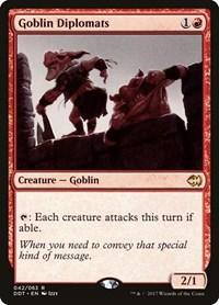 Goblin Diplomats, Magic, Duel Decks: Merfolk vs. Goblins