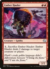 Ember Hauler, Magic: The Gathering, Duel Decks: Merfolk vs. Goblins