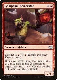 Gempalm Incinerator, Magic: The Gathering, Duel Decks: Merfolk vs. Goblins