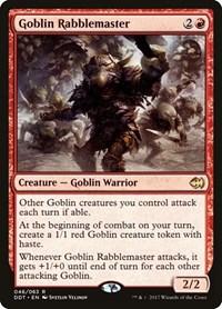Goblin Rabblemaster, Magic: The Gathering, Duel Decks: Merfolk vs. Goblins