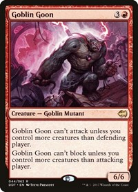 Goblin Goon, Magic: The Gathering, Duel Decks: Merfolk vs. Goblins