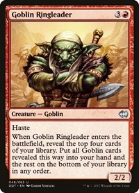 Goblin Ringleader, Magic: The Gathering, Duel Decks: Merfolk vs. Goblins