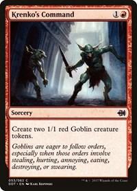Krenko's Command, Magic: The Gathering, Duel Decks: Merfolk vs. Goblins