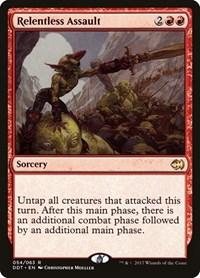 Relentless Assault, Magic: The Gathering, Duel Decks: Merfolk vs. Goblins
