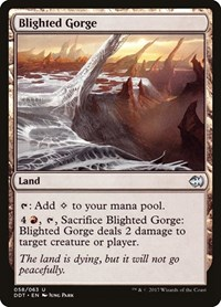 Blighted Gorge, Magic: The Gathering, Duel Decks: Merfolk vs. Goblins