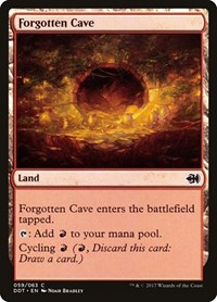 Forgotten Cave, Magic: The Gathering, Duel Decks: Merfolk vs. Goblins