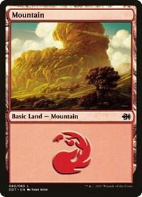 Mountain (60), Magic: The Gathering, Duel Decks: Merfolk vs. Goblins