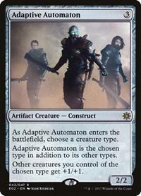 Adaptive Automaton, Magic: The Gathering, Explorers of Ixalan